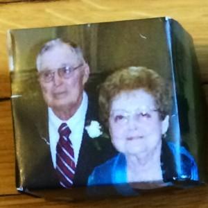 Chuck Stark and Teresa Stark (origami box)