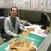 Check out all the stacks of paper behind me!